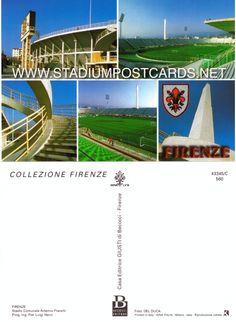€ 0,50 - code : ITA-015 - Firenze - Franchi - stadium postcard cartolina stadio carte stade estadio tarjeta postal