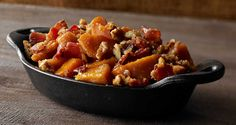 Candied Bacon Sweet Potatoes