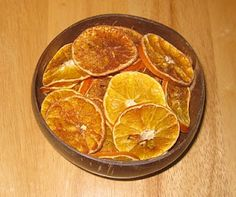 potpourri baked in an oven.....