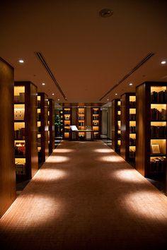 41st Floor Library @ Park Hyatt Tokyo