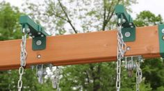 It's easy to add a fun horse glider to your Backyard Swing Set with heavy-duty brackets. Shop Swing Set Hardware & accessories at Eastern Jungle Gym. Swing Set Brackets, A Frame Swing, Saddle Swing, Swing Set Hardware, Playground Mats, Swing Set Accessories, Backyard Swing Sets, Rubber Mulch, Wooden Playset