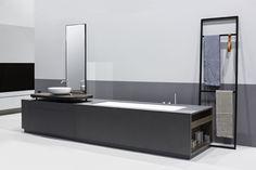 MANHATTAN integrated bathtub – washbasin system by Makro Design » Retail Design Blog