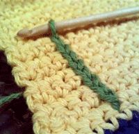Learn Crochet Chain-Stitch Embroidery  Love this! Much better than regular needle embroidering