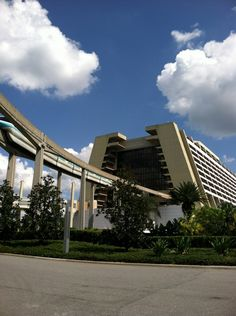 Disney's Contemporary Resort in Bay Lake, FL Orlando Resorts, Disney World Resorts, Disney Vacations, Disney Trips, Hotels And Resorts, Disney Parks, Walt Disney World, Disney Contemporary Resort, Bay Lake