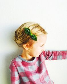 Caída hojas abalorios fieltro nudo pinzas  pinzas de pelo