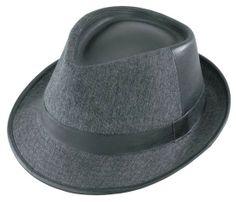 Henschel GB Fedora-Two Pc Crown Hat 95190 at Viomart.com