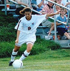 Mia Hamm: The youngest female soccer player to ever step foot on the US Women's National team at age 15. She was part of three Olympic teams 96',00', and 04' winning two Gold medals and a Silver. She was also part of the 1999 World Cup Championship team.