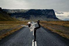 Iceland yoga girl :D