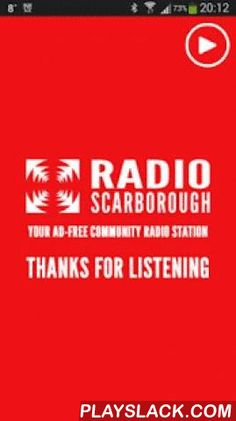 Radio Scarborough  Android App - playslack.com ,  Listen with Jerry Scott, Emperor Rosko, Gordon Tennent and more on Radio Scarborough!Station information:The station team is made up of Jerry Scott, former BBC Radio York presenter and journalist and fellow directors Dave Simcox and Allan Deacon who both have extensive experience in local business and Scarborough's charitable and voluntary sectors. Helen Scott is the Company Secretary and Station Coordinator and has, along with Jerry, a…