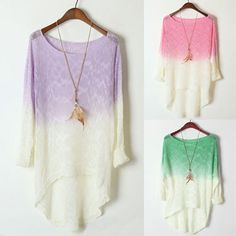 ombre sweater :)