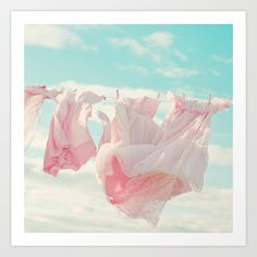 LandryRoom! She+Wears+Pink+Art+Print+by+Butterfly+Photography+-+$18.00