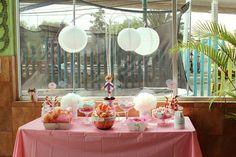 mesa de dulces bautizo angelita by Mesa de Dulce, via Flickr