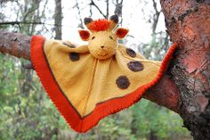 not free-Ravelry-$5.50 8 for $15.  knit giraffe pattern free | This playful Giraffe is number 8 in the series of Woobies... be on the ...