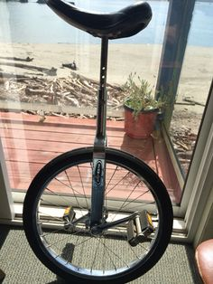 1980's Schwinn Unicycle, all original down to the Schwinn unicycle tire