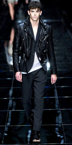 #burberry #prorsum leather jacket