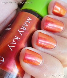 Lava!! Great summer color!  Saving 4 A Sunny Day! Shop with me at www.marykay.com/rsmith99338 Or email me at rsmith99388@marykay.com