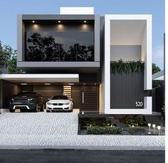Architecture Discover Top 40 modern house designs ever built! Modern Exterior House Designs, Dream House Exterior, Exterior Design, Best Modern House Design, Home Modern, Modern Homes, Architecture Design Concept, Modern Architecture House, Architecture Interiors