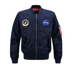 NASA Bomber Jacket by Dimusi