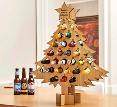 Personalised oak Advent calendar for drinks – Stag Design Alcohol Advent Calendar, Craft Beer Advent Calendar, Adult Advent Calendar, Advent Calendar Boxes, Christmas Tree Advent Calendar, Advent Calenders, Diy Calendar, Christmas Countdown, Advent Calendar Ideas For Adults