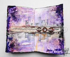 france papillon, journal on Monday week 122, art journaling