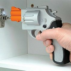 Silver Revolver Shaped Screwdriver  http://www.squidoo.com/great-gifts-for-gun-nuts