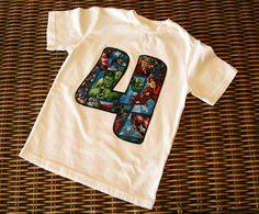 Boys Custom Avengers Birthday Number Shirt by NaptimeProduction on Etsy https://www.etsy.com/listing/231310865/boys-custom-avengers-birthday-number