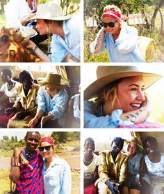 Demi in Africa  So proud of her❤