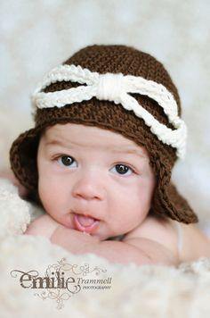 Aviator baby crochet hat by crisvi on Etsy, $15.00