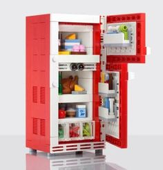 Raid the LEGO fridge!