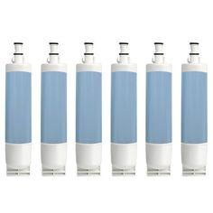 Whirlpool ED5GHEXNL02 / GD5SHGXKQ01 Replacement Refrigerator Water Filter by Aqua (Blue) Fresh (6 Pack)