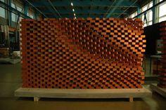 The Programmed Wall in Zurich (Courtesy Gramazio Kohler)
