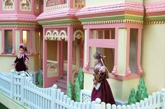 04-FS-152 - Victorian Barbie Doll House Woodworking Plan.