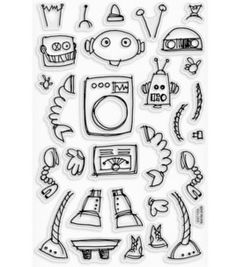 """robot ideas- this would be great to create a """"roll-the-die"""" sheet for kids.  need to find a good book to go with it."""