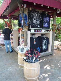 The Lost Continent Souvenir Kiosk at Islands of Adventure in Orlando, Florida USA
