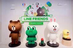 Line Friends Store in Harajuku, Japan