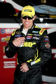 Carl Edwards at Dover International Speedway