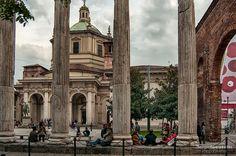 Colonne di San Lorenzo, Milano (Sergio Locatelli)
