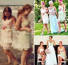 Vintage colored lace  Bridesmaid Dresses   ... -bridesmaids-dresses-for-summer-etsy-vintage-lace-dresses__full.JPG
