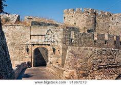 Rhodes / Rodos - Ancient City Walls Of  Rhodes Island - Greece