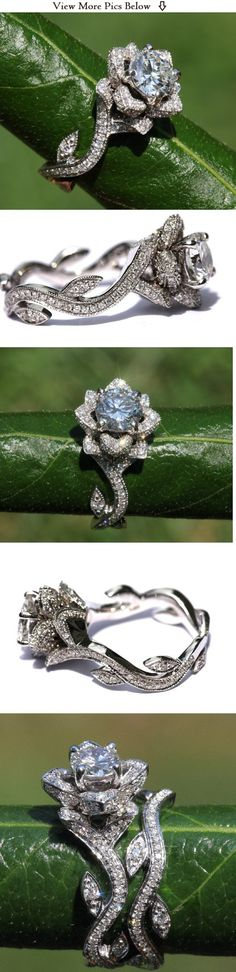 More of the lovely blooming love ring #EngagementRings <3