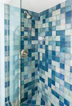 1st Level Shower Grand Cayman, Curtains, Shower, Prints, Rain Shower Heads, Blinds, Showers, Draping, Net Curtains