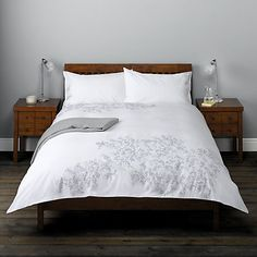 Buy John Lewis Layla Bedding Online at johnlewis.com Lilac Bedroom, Master Bedroom, Bedroom Decor, Beds Online, Bedroom Vintage, Spare Room, John Lewis, Duvet Covers, New Homes