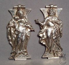 Antique Silver Bible Book Clasps, 17th century | Collection King
