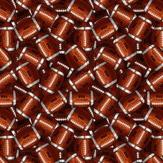 This might work as the back fabric of the football blanket.