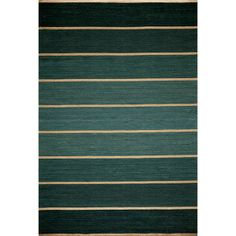 Ombre Stripe Area Rug/ easy rug for under kitchen table.