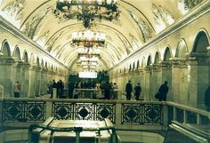 Moscow's Historical Metro Stations