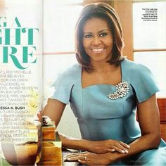 First Lady Michelle Obama in Essence Magazine