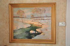 Frank Ferruzza (1912 - 1984) Oil Painting