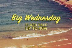 Today is our BIG WEDNESDAY! Beat the clock & Get your board now