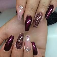 Image result for nail designs with purple polish